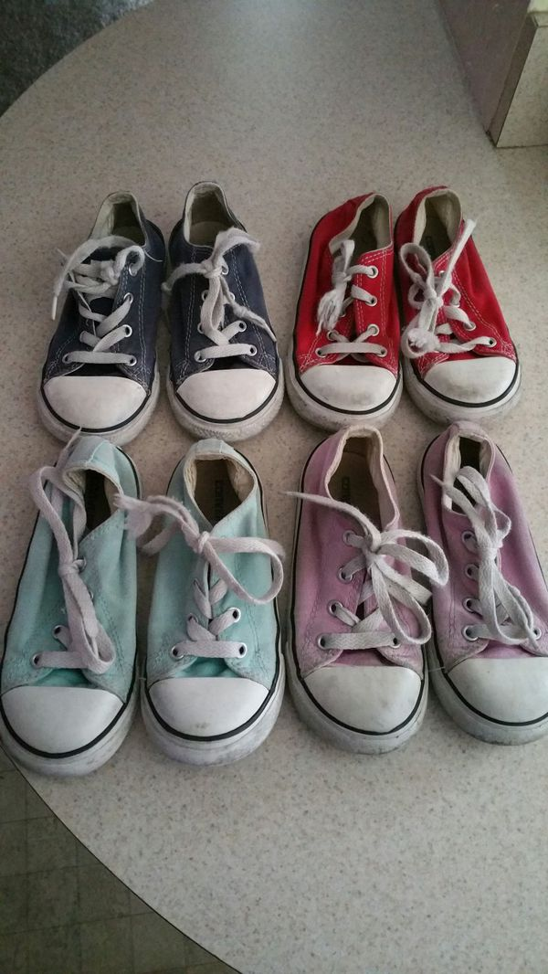 bc4f495a2746 Used toddler size 10 converse for Sale in Port St. Lucie