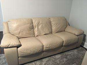 Leather Couch for Sale in Apex, NC
