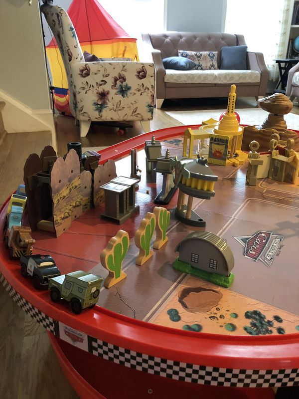 Peachy Kidkraft Disney Cars Radiator Springs Race Track Set And Table For Sale In Clifton Va Offerup Download Free Architecture Designs Scobabritishbridgeorg