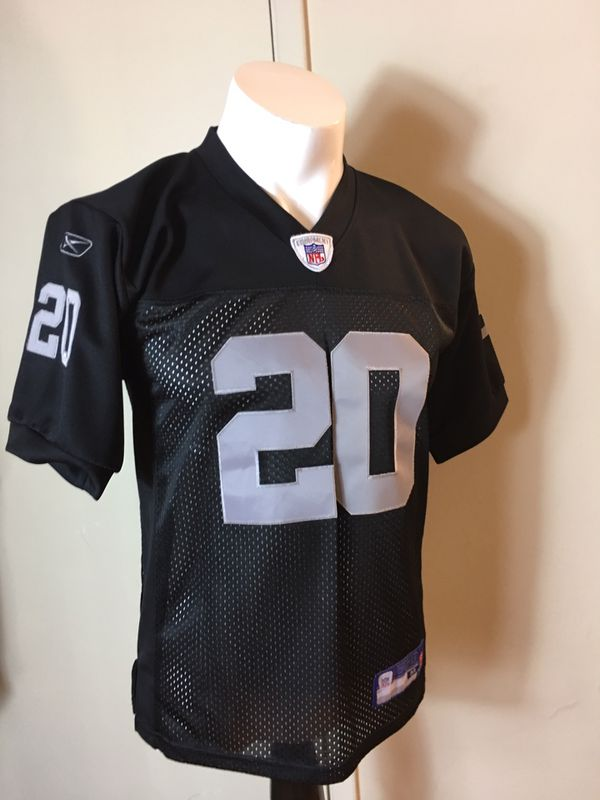 84155e96c Men's Reebok NFL Equipment Darren McFadden #20 Oakland Raiders jersey size  medium