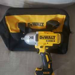 Dewalt XR 1/2 Brushless 3 Speed High Torque Impact Driver  And Contractor Bag Thumbnail