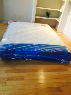 New 11 Inch Queen Euro Pillow Top Mattress for Sale in Silver Spring, MD