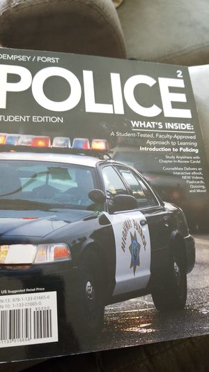 Police student edited book for Sale in Detroit, MI