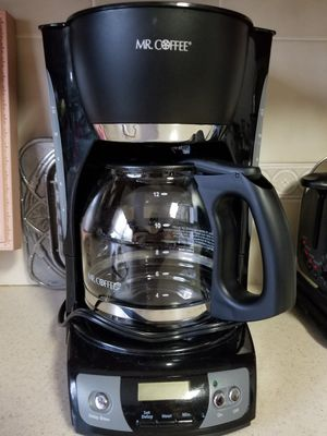 Mr, Coffee maker 12cups for Sale in Martinsburg, WV