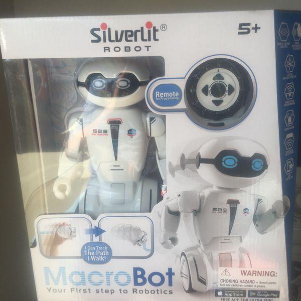 silverlit robot macrobot Remote controller rc (Games