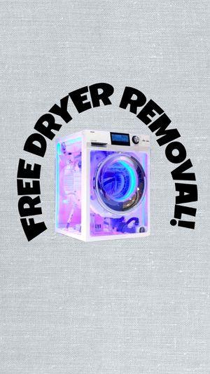 Free Dryer Pick Up!! for Sale in Orlando, FL