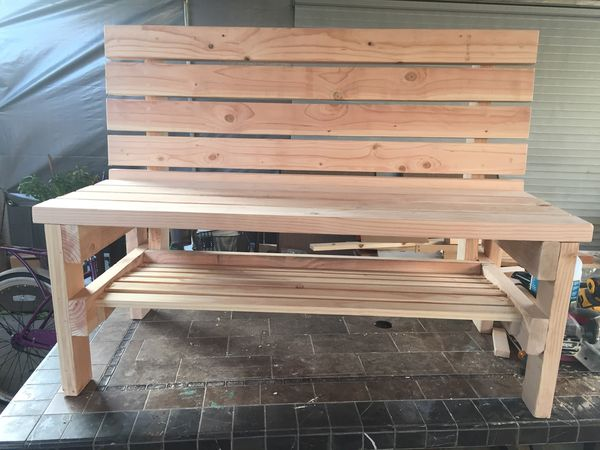 Wooden Benches For Sale In Tracy Ca Offerup
