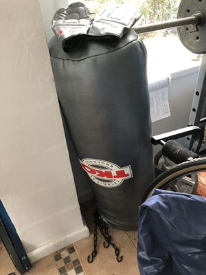 TKO Heavy Punching Bag w/Gloves for Sale in Bethesda, MD