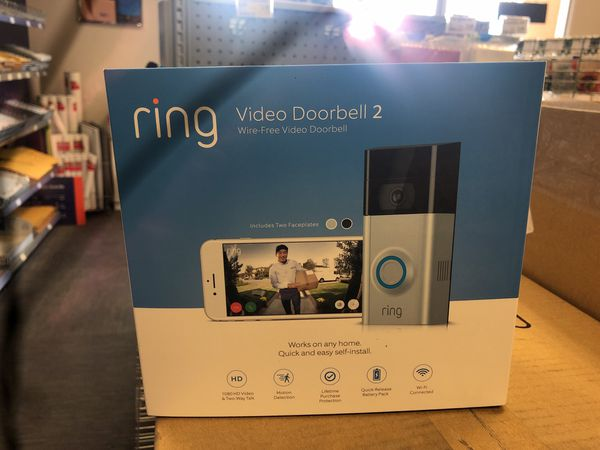 Ring doorbell 2 brand new seal for Sale in San Jose, CA - OfferUp
