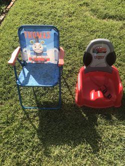High chair seat and lawn chair!! Thumbnail