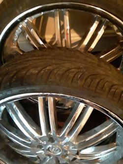 22 tires and rims for sale 600.00 Thumbnail