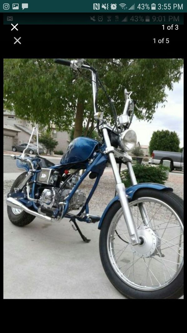 Pagsta 100cc mini chopper for Sale in Avondale, AZ - OfferUp