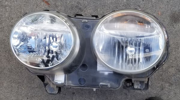 2004 Through 2009 Jaguar Xj8 Driver Side Headlight Halogen