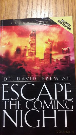 ESCAPE THE COMING NIGHT BOOK BY DR. DAVID JEREMIAH for Sale in Middleburg, FL