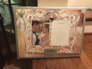 Wedding Picture Frame for Sale in Atlanta, GA