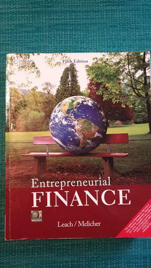 Entrepreneurial Finance for Sale in Houston, TX