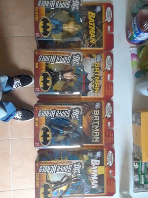 Batman collectibles figures wit comic DC Marvel for Sale in Los Angeles, CA
