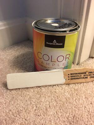 Paint Sample - Benjamin Moore Test Can for Sale in Falls Church, VA