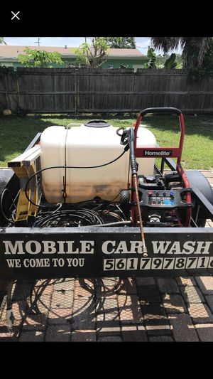 New and used car trailers for sale in boynton beach fl offerup trailer with car wash equipment for sale in west palm beach fl solutioingenieria Image collections