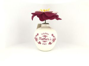 Hallmark - HAPPY MOTHER's DAY - Gift - Fabric Flower - Art & Craft - Special - Glass Vase for Sale in New York, NY