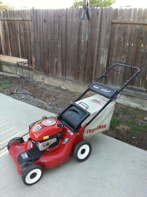 Craftsman 6 75hp Walk Behind Self Propelled Lawn Mower For