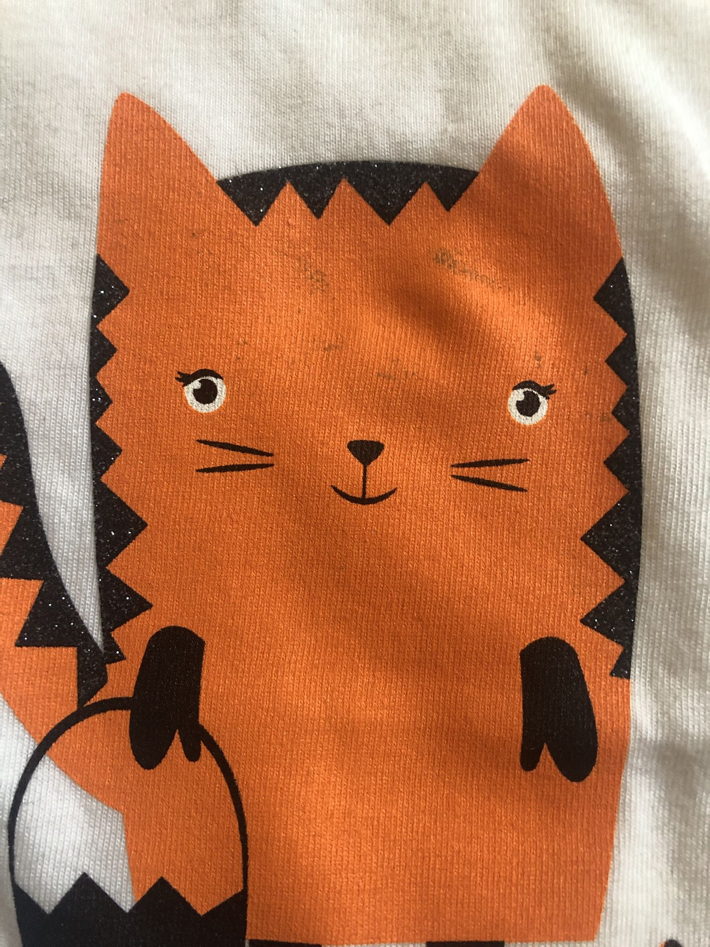 NEW 3T Toddler Girls Halloween shirt lot: Paw Patrol, Sesame Street Elmo & Cat & Jack