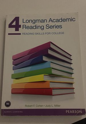 Longman Academic Reading Series 4 for Sale in Portland, OR