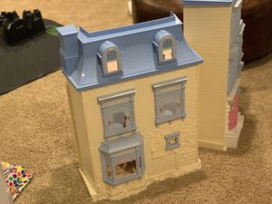 Fisher Price Lights and Sounds Doll House - fully furnished for Sale in Arlington, VA