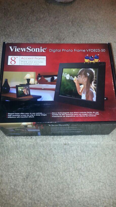 Viewsonic Vfd823 50 8 Inch Digital Photo Frame Home Garden In