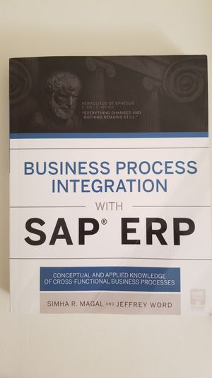 Business Process Integration with SAP ERP, Sumha R.Magal and Jeffery Word for Sale in Alexandria, VA