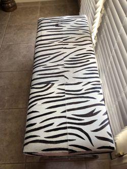 Zebra bench Thumbnail