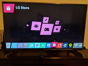 "LG 43"" Smart TV for Sale in Fairfax Station, VA"