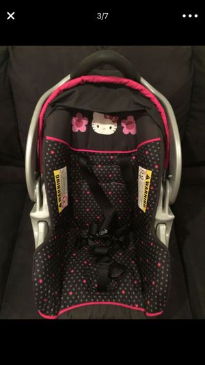 Baby Trend Hello Kitty Infant Car Seat With Base Panel For Sale In Nutley NJ