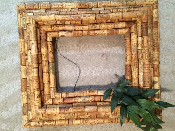 Wine Cork Frames For Picture Or Mirror Or For Sale In New York