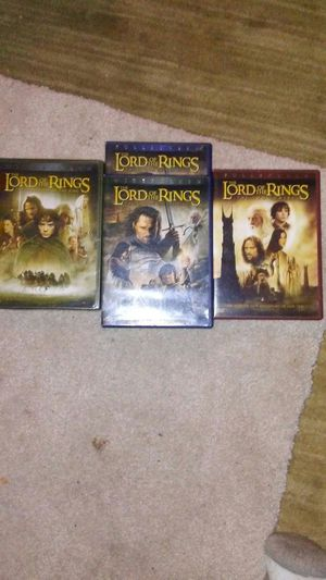 Lord Of The Rings,4 DVD Set,whole series for Sale in Boston, MA