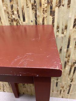 Burnt Umber End Table Thumbnail