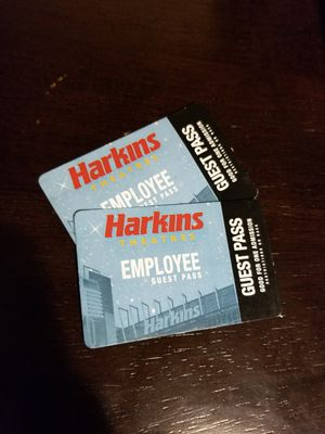 Harkins Movie Passes for Sale in Phoenix, AZ