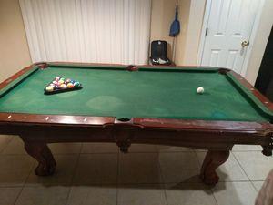 Photo Pool table