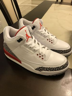 """33ac3d251f72 JORDAN RETRO 3 """"HALL OF FAME"""" VNDS MENS SIZE 9 COMES WITH OG EVERYTHING  INCLUDING RECEIPT for Sale in Avondale"""