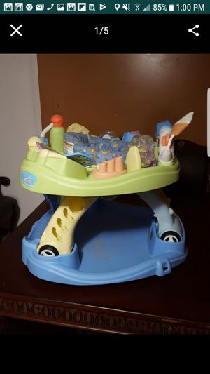 Baby .Activity center &waker for Sale in Alexandria, VA