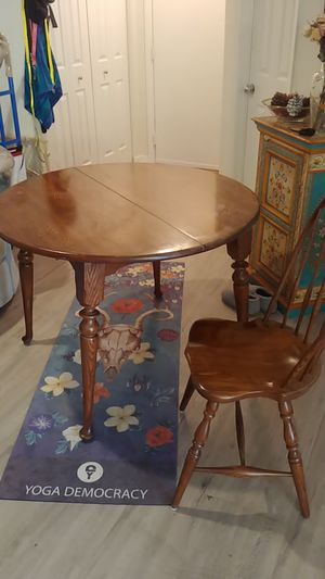 Antique oak dining table for Sale in Centreville, VA