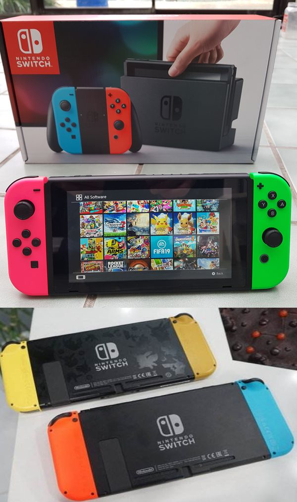 Nintendo Switch Mods, Hacks, + Games, New or Used Consoles  for Sale in San  Diego, CA - OfferUp