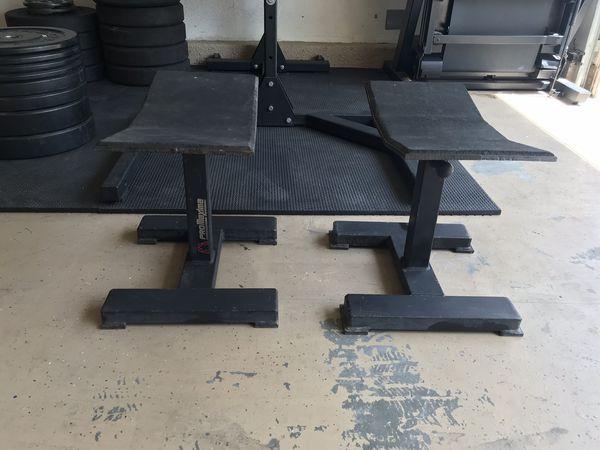 Pro Maxima adjustable pulling stands/jerk blocks for Sale in Murrieta, CA -  OfferUp