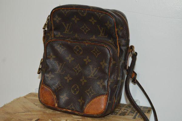 62390080c48b Authentic Louis Vuitton Amazon Shoulder Bag Crossbody Monogram Vintage