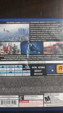 Grand Theft Auto V (PS4) Thumbnail