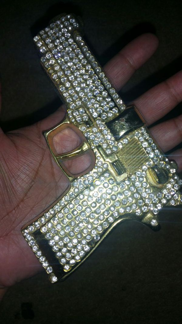 Gucci Private Sale >> Iced Out Glock Belt Buckle for Sale in Tampa, FL - OfferUp