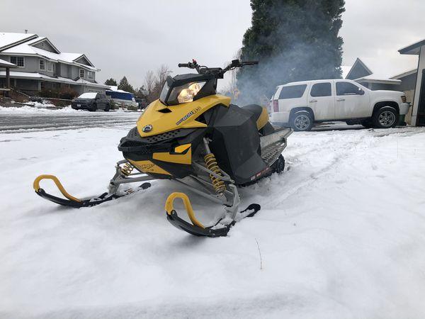 2008 ski doo 600 race sled
