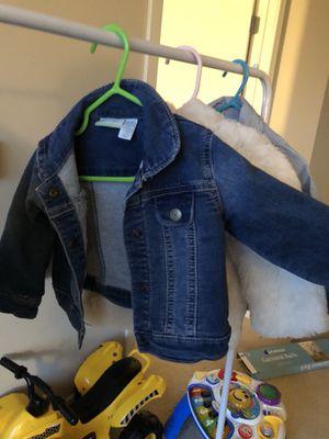 Baby girl Toddler denim jacket for Sale in Washington, DC