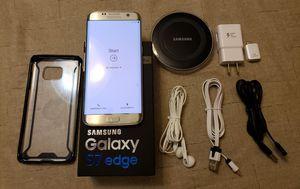 Samsung S7 Edge Bundle Silver 32GB SM-G935P Unlocked for Sprint & Verizon (CDMA networks) for Sale in Orlando, FL