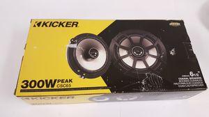 Kicker CSC65 Car Audio Coaxial 6 1/2 in for Sale in Alexandria, VA